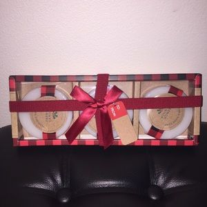 🆕 Holiday 3 Piece Guest Soap Set (French Vanilla)